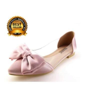 RAFISHASHOES Balet Mika Pita Black Lazada Indonesia Source · Hokimoro Flatshoes Wanita Ballet Teplek Pita Pink