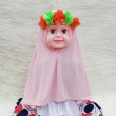 HQo Kerudung Anak Bayi Nadine / Jilbab Anak Bayi / Jilbab Bayi / Hijab Pashmina Instan Anak