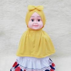 HQo Kerudung Anak Bayi Zafira Ribbon / Jilbab Anak Bayi / Jilbab Bayi / Hijab Pashmina Instan Anak