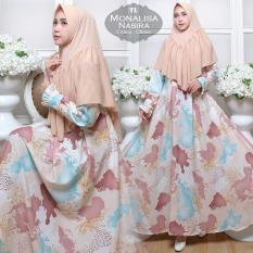 Humaira99 Gamis Syari Muslim Wanita Busui Dress Muslimah Monalisa