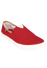 Hush Puppies Sepatu Loafers Casual Pria  Shwan - Red
