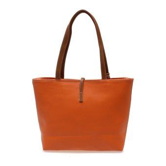 Zada Tote Bag With Mini Pouch Oranye