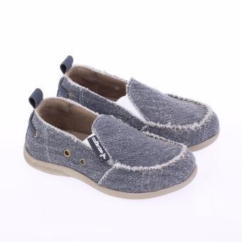 Catenzo Junior Sepatu Casual Denim - Slip On Anak Laki-Laki -