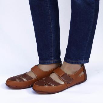 Yutaka Flat Shoes Coklat - 4 .