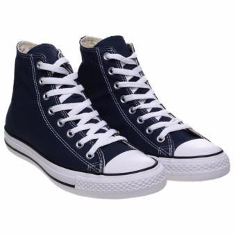 Ayako Fashion CV - 11 Point Hi Classic Unisex Sneaker - (Navy .