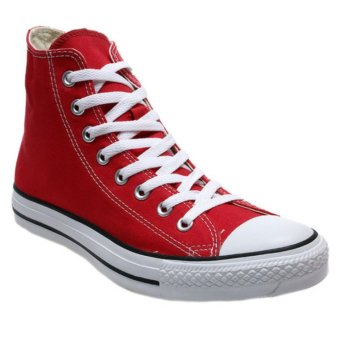 Harga Sneaker All Star ct Hi - merah