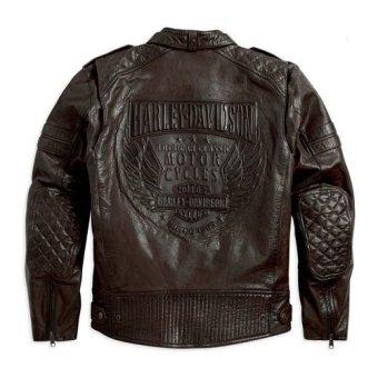 Harley Davidson Jaket Kulit 97015-15VM Hitam