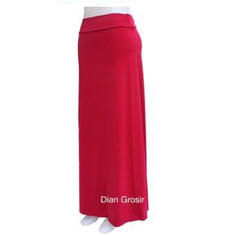 Rok Panjang Polos Merah ...