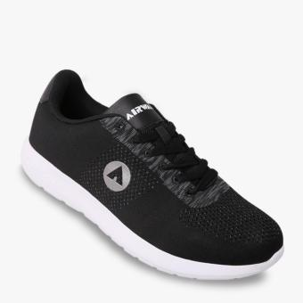 Harga Airwalk Hofman Men's Sneakers Shoes - Hitam