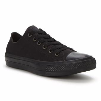 Harga Converse CT All Star II Low Black Mono