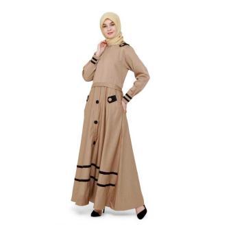 Java Seven Rnr 003 Baju Gamis Muslim Wanita-Cotton-Bagus Dan Lucu Terbaru 2017