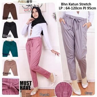 Harga SB Collection Celana Tara Jumbo Pant-Peach