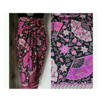 SB Collection Rok Maxi Lilit Mahata Batik Long Skirt-Ungu