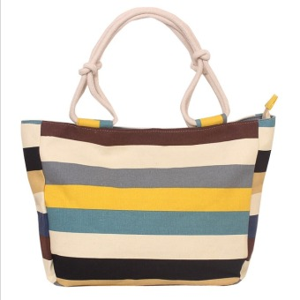 Harga Fashion Women Tote Bags Canvas Hot Style Lady Bags - intl