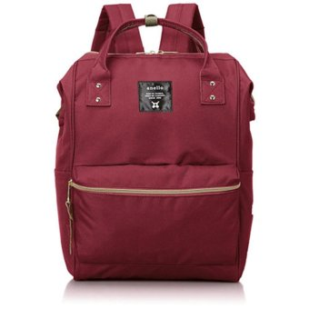 Harga Tas Ransel Anello Handle Oxford Cloth Backpack Campus Rucksack L Size - Merah