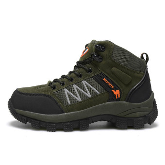 Harga Outdoors Boots Mountain Hiking Shoes Sports Waterproof Outdoor Climbing Men's Boots Shoes Trekking Boot - intl