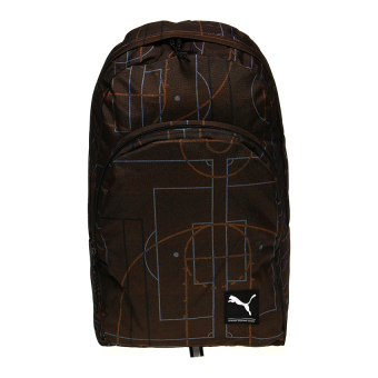 Harga Puma Academy Backpack - Burnt Orange-Court Print