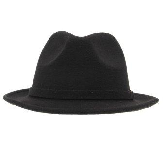Eozy Korea Elastis Wol Musim Panas Lembut Topi Panama Topi Fedora Topi  Wanita . 9f732d5b42