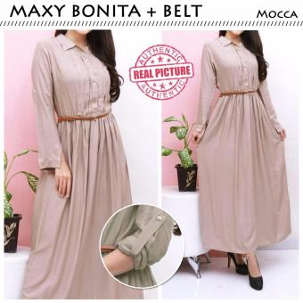 Harga Suki Dress Maxi Bonita - Mocca