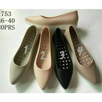 Harga Jelly Shoes Model Heels / hak berkualitas Import