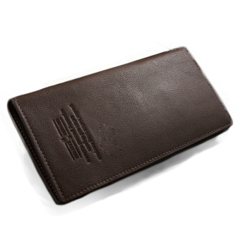 Men Long Business Leather Wallet Credit Cards Holder Pockets Purse - Intl - Intl