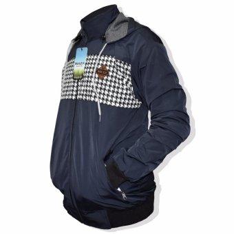 Galeri Produk LMG Jaket/Sweater Bolak Balik Motif Dada Bulex - Birugelap Terbaru