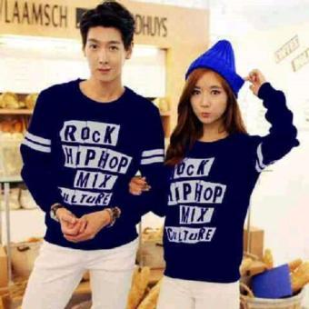 Harga Jakarta Couple - Sweater Couple Hip Rock Nevy
