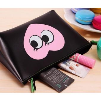 HB Tas Dompet Kosmetik Simple / Cosmetic Pouch / Tempat Makeup hijau . Source · Tempat
