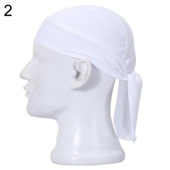 Harga PAlight Men Women Outdoor Cycling Running Mask Skull Scarf Doo Rag Bandana Cap Hat - intl