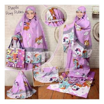 Harga Mukena Kids Jasmine Purple