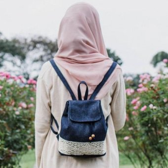 Harga Heejou Mini Backpack Vintage
