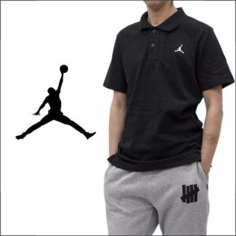 Polo Shirt Jordan Air - Hitam