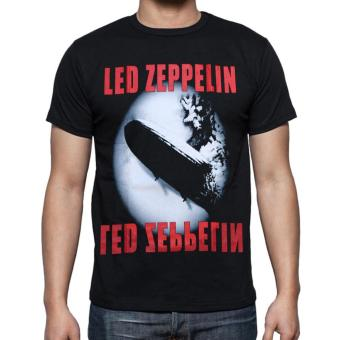 Harga Blacklabel Kaos Hitam BL lLED ZEPPELIN 16 T-Shirt Rock Star Metal Band Gothic - S