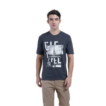 Harga Carvil Tesco Men's T-shirt - D.Grey