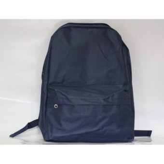 Harga backpack wanita simply blue navy