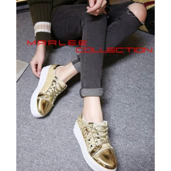Harga Marlee HT-10 Sneakers Shoes - Gold