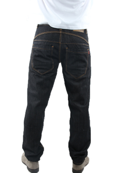 2nd RED 121125 Jeans Fashion Scraft Wifing - Hitam - 5 .