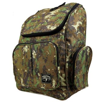 ... Hijau Source · Elfs Shop Tas Ransel Canvas Toretto Army 6M Coklat Tua 2