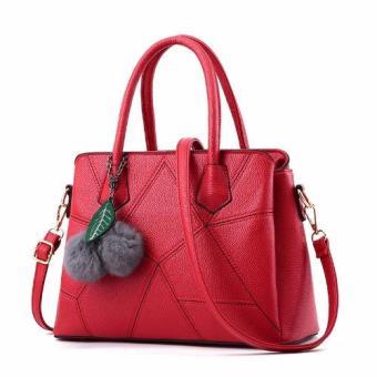 Vicria Tas Branded Wanita - Korean High Quality Bag Style- RED