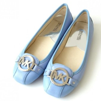Michael Kors Fulton Leather Moccasin - Sky