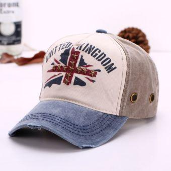 Women Men Adjustable Sun Caps Hip-hop Hat Denim Jean Peaked Casual Cool Baseball Cap