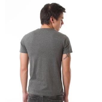 2 HIGH5 Kaos California Abu Grey Fashion Pria 3 .