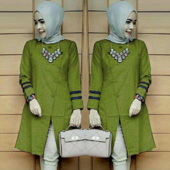 Harga Suki Blouse Bolly - Green