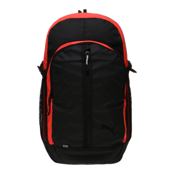 Harga Puma Apex Backpack - Puma Black-Red Blast