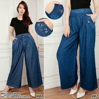 Harga Terbaru 168 Collection Celana Kulot Fiorentina Jeans Pant-Model 02