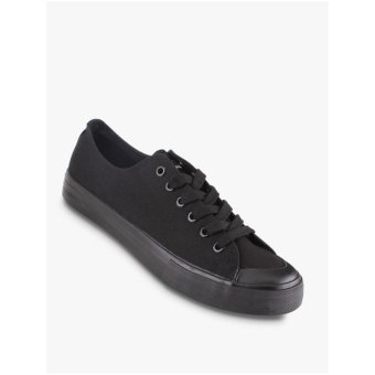 Harga Airwalk New Basic Canvas Men's Sneakers Shoes - Hitam