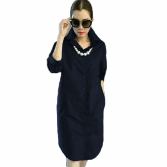 Harga Ayako Fashion Tunic Alona (Navy)