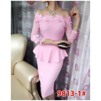 Grosir Dress-Stelan 9813-1