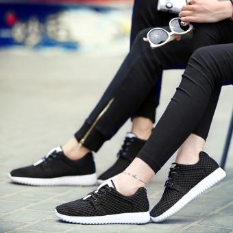 Harga Arlaine Downy Sneaker Shoes [Black]