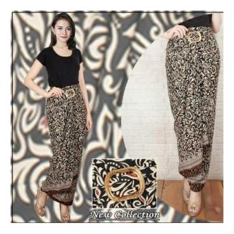 SB Collection Rok Maxi Lilit Anna Batik Long Skirt-Coklat